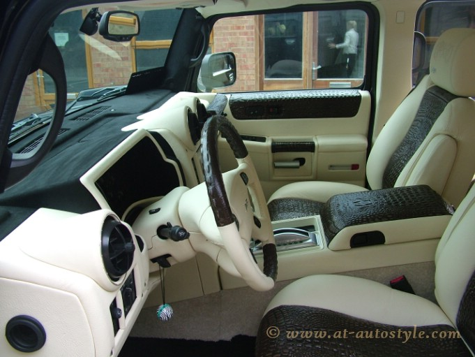 Hummer H2 Interior 13 At Autostyle