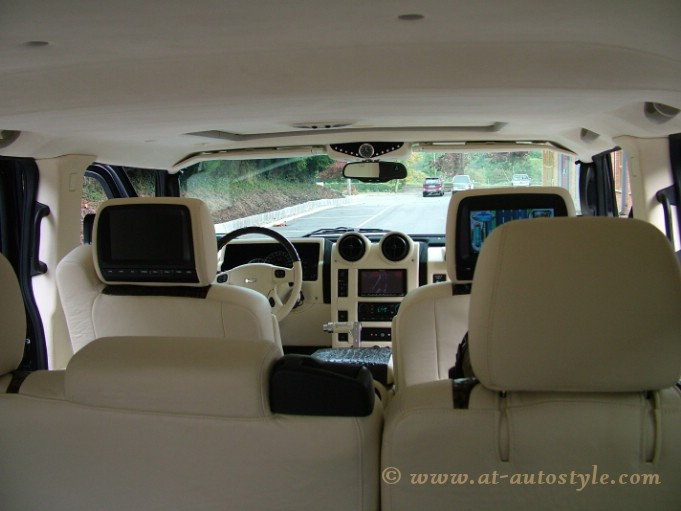 Hummer H2 Interior 20 At Autostyle