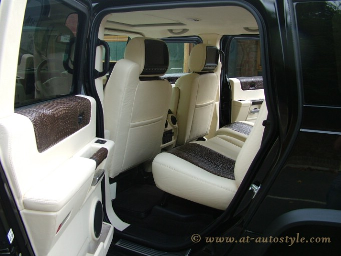 Hummer H2 Interior 21 At Autostyle