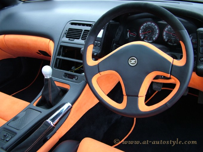 Superior Nissan 300ZX Leather Interior