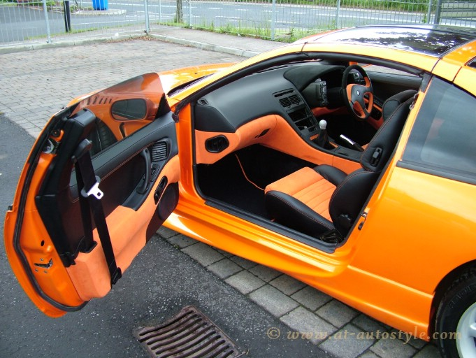 Nissan 300zx Leather Interior A Amp T Autostyle