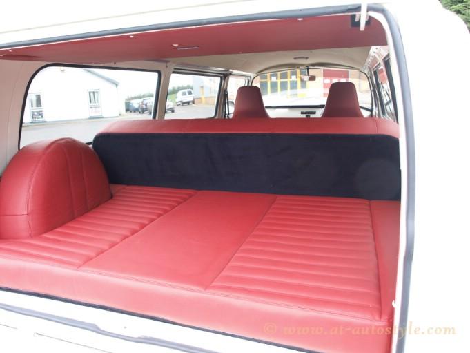 VW Transporter T2 Interior Custom Design VW T2 Headliner With Pocket