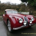 Jaguar XK 120 drop head coupe