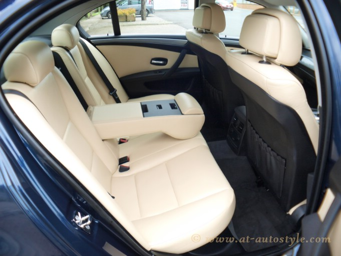 BMW 5 series E60 leather interior | AT Autostyle