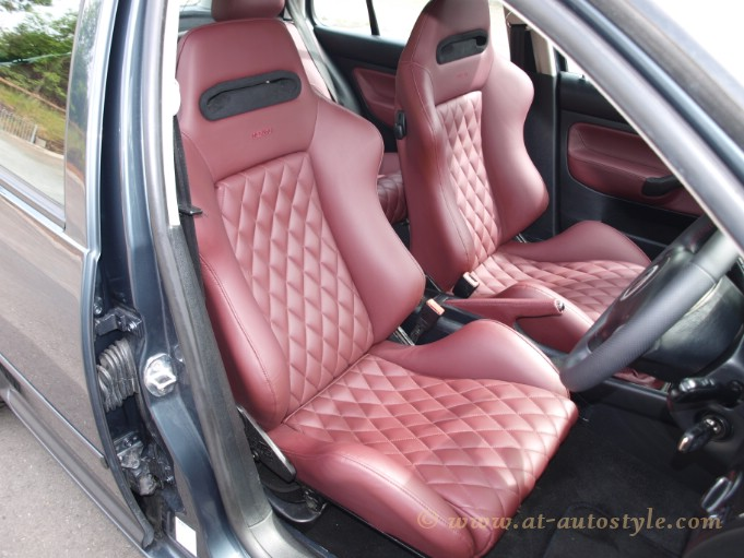 Vw Golf Mk4 Leather Interior A Amp T Autostyle