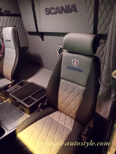 Scania 143 interior | A&T Autostyle