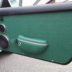 porsche 911 woven leather door panels