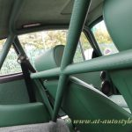 porsche 911 roll cage wraped in leather