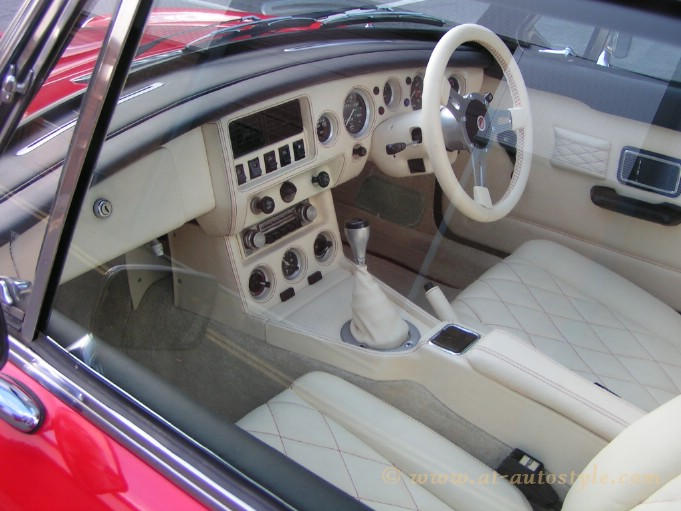 Mercedes Of Austin >> MGB GT Interior | A&T Autostyle