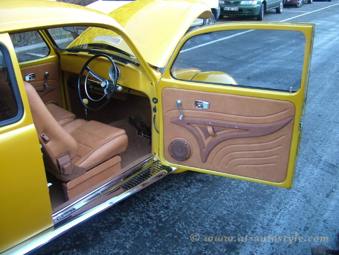 vw beetle interior a t autostyle. Black Bedroom Furniture Sets. Home Design Ideas