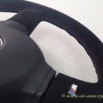 BMW suede steering wheel