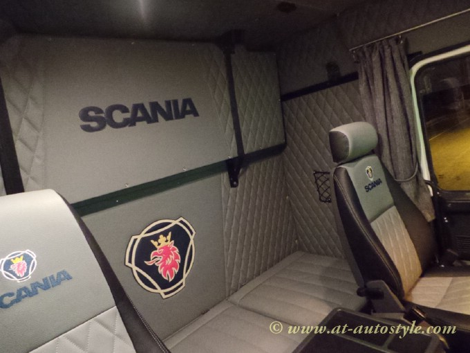 Scania T580 Interior A Amp T Autostyle