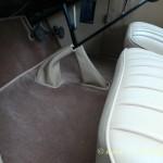 Austin gear lever, hand brake cover
