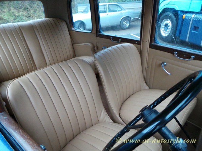 Austin 12 4 1934 Interior A Amp T Autostyle