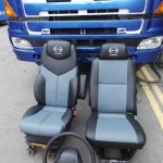 Hino leather seats