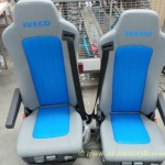 Iveco leather seats