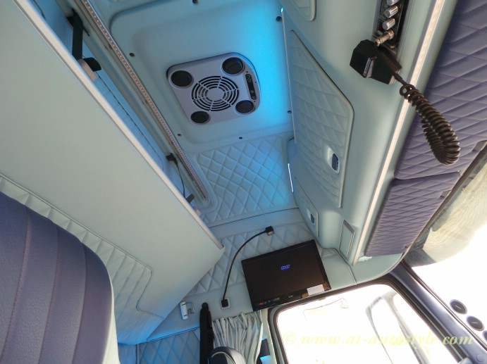 Volvo FH-12 custom design leather interior   A&T Autostyle