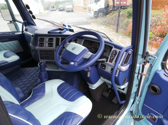 Volvo Fh 12 Custom Design Leather Interior A T Autostyle